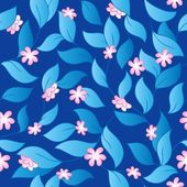 Flowery seamless background 3 — Stock Vector