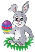 Easter bunny theme image 1 — Stock Vector