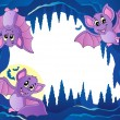 Bats theme image 3 - Stock Vector