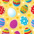 Seamless Easter topic background — Imagen vectorial
