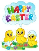 Happy Easter sign theme image 5 — Stock Vector