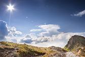 Sunny tatras - high mountain in Europe. — Stock Photo
