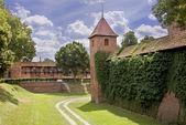 Burgen und Schlösser in Polen. — Stockfoto