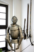 Medevial knight. — Stock Photo