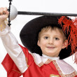 Boy with carnival costume  — Stock Photo