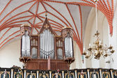 Oude orgel — Stockfoto