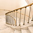 Stock Photo: White stairs.