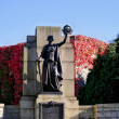 Monument in Plymouth. - Stock Photo