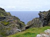 Kıyısında cornwall'a — Stok fotoğraf