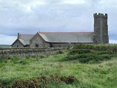 Old church in Tintagel — Stock Photo