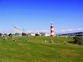 Sommer in plymouth — Stockfoto