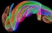 Abstract rainbow figure diversity. — Stock Photo