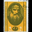 Royalty-Free Stock Photo: BULGARIA - CIRCA 1978: cancelled stamp russian writer Lev Tolstoy.