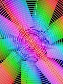 Metallic grid on ventilator, power industry details. — Stock Photo