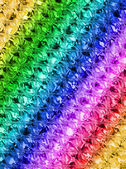 Abstract rainbow glass surface, texture closeup. — Stock Photo
