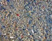 Glass debris heap, environment pullution, stress. — Stock Photo