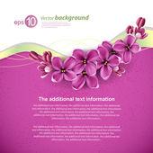 Fundo de primavera para o design — Vetorial Stock