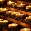 Burning candles — Stockfoto #10464677