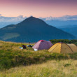 Evening in the Mountains — Stock Photo #8184092