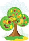 Wonderful tree — Stock Vector