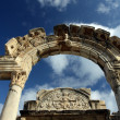 The Temple of Hadrian - Stock Photo