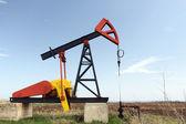 Olejové čerpadlo jack. — Stock fotografie