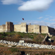 Selcuk castle — Stock Photo