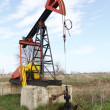 Oil pump jack — Stock Photo #10625298