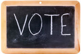 Vote now — Stockfoto