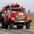 Red Fire Truck — Stock Photo