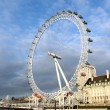View of The London Eye - 图库照片