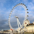 View of The London Eye - Foto Stock