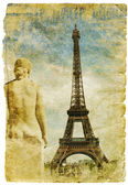 France- retro style picture — Stockfoto
