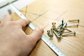Furniture construction — Stock Photo