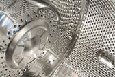 Abstraction, - detail chromium plating — Stock Photo