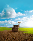 Desertification — Stock Photo