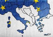Cut of Greece — Stock Photo