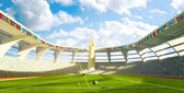 Olympic Stadium - Olympic disciplines of launch — Stock Photo