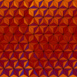 Pyramids paper background — Stockvektor