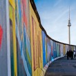 Berlin Wall in Germany - Stok fotoğraf