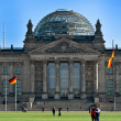 Reichstag in Berlin - Germany - Stock Photo