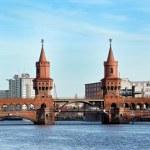 Bridge in Berlin - Kreusberg - Germany — Stock Photo