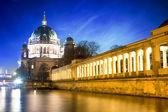 柏林大教堂-柏林 dom-德国 — 图库照片