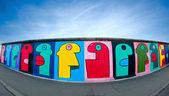 Mur de berlin en allemagne — Photo