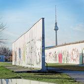 在德国的柏林墙 — 图库照片