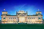Reichstag in Berlin - Germany — Stock Photo