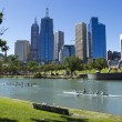 Melbourne city - Victoria - Australia — Stock Photo #8417663