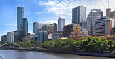 Melbourne città - victoria - australia — Foto Stock