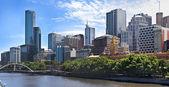 Melbourne city - victoria - australia — Foto de Stock