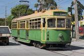 старый способ трамвай в мельбурне - австралия — Стоковое фото